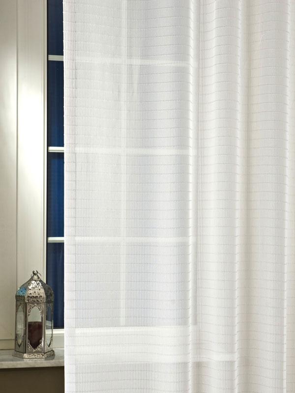 Futuristic fényáteresztő függöny fehér