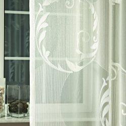 Fényáteresztő függöny Geysir krém