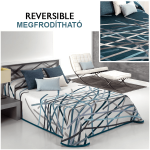 ágytakaró megfordítható kék