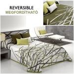 ágytakaró megfordítható zöld