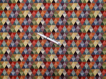 Gobelin bútorszövet kisháromszög 87439-01