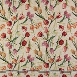 tulipános gobelin bútorszövet