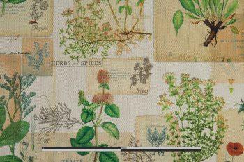 Alfabia gyógynövényes pamutvászon zoom