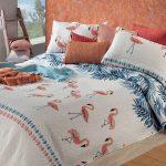 flamingós ágytakaró az ágyterítő webáruházban