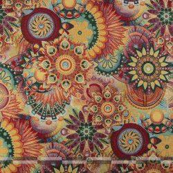 Gobelin bútorszövet művészi mandala