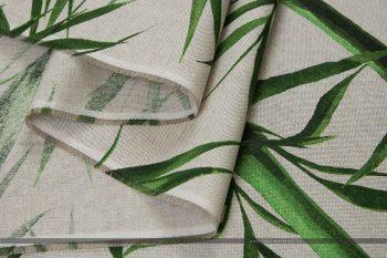 bambusz dekorvászon hajtott 2