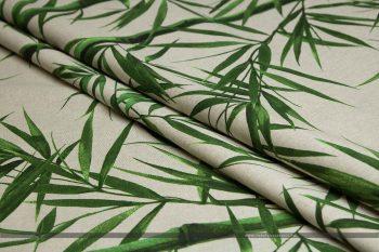 bambusz dekorvászon hajtott