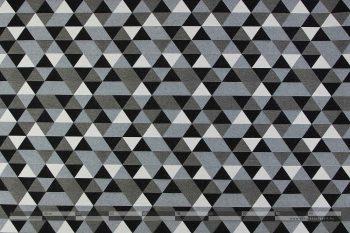 Háromszög mintás kétoldalas szövet-100