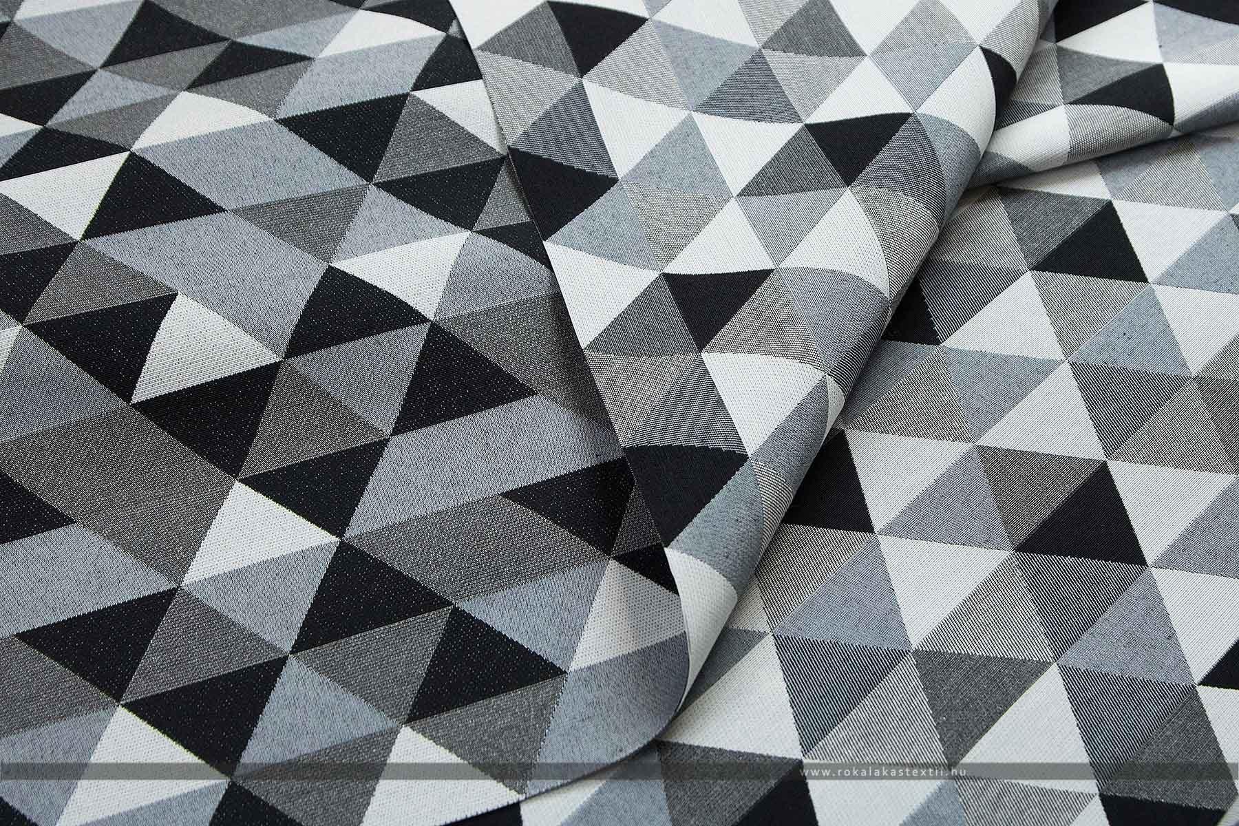Háromszög mintás kétoldalas szövet