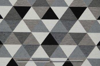 Háromszög mintás kétoldalas szövet zoom2