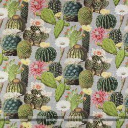 kaktuszos dekorvászon