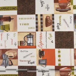 kávés dekorvászon 100