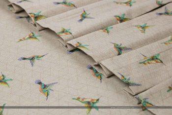 Kolibris dekorvászon hajtott 3