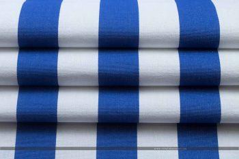 MODRA nyugágyvászon kék-fehér hajtott2