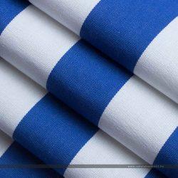 MODRA nyugágyvászon kék-fehér oldal hajtott