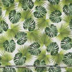 nagy zöld leveles dekorvászon 100
