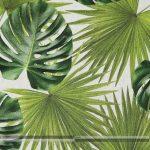 nagy zöld leveles dekorvászon zoom