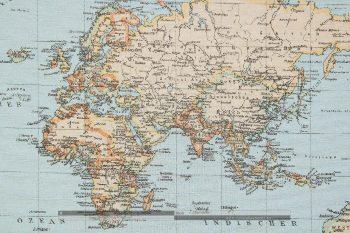 térképes dekorvászon zoom