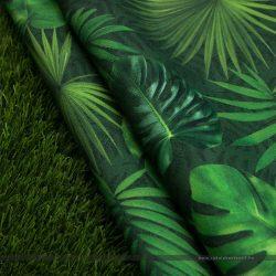 trópusi leveles kültéri dekorvászon fűvel