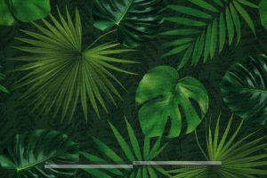 trópusi leveles kültéri dekorvászon zoom