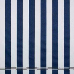 kék fehér csíkos dekorvászon 100