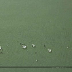 PRISMA vízlepergető dekorvászon fenyőzöld cseppes