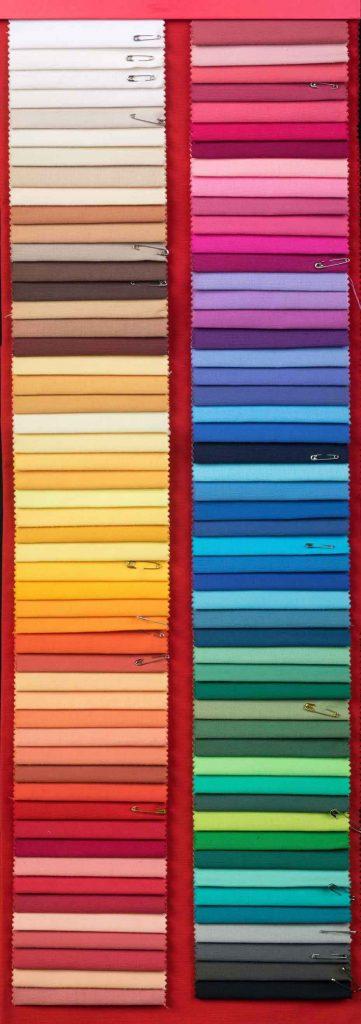 Prisma vízlepergető anyag tulajdonságai és színskála vagy mintasál