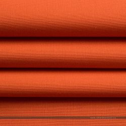 PRISMA vízlepergető dekorvászon narancs hajtott egyenes