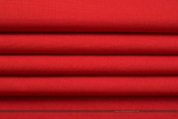 PRISMA vízlepergető dekorvászon vörös hajtott