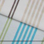 Ibiza C1 kék-zöld dekorvászon barna-drapp variáns