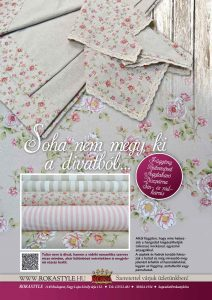ROKA Lakástextil Veranda magazin rózsás