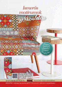ROKA Lakástextil veranda magazin motívumok