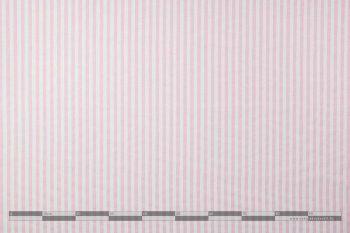 Ibiza rózsaszín csíkos dekorvászon 100