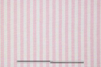 Ibiza rózsaszín csíkos dekorvászon