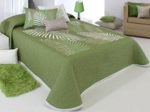 kétoldalas ágytakaró libor c04 zöld oldal az agyterito.hu webshopban
