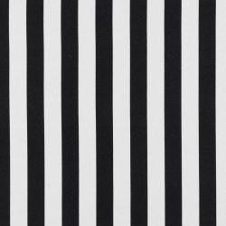 fekete-fehér csíkos pamut