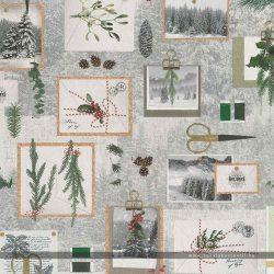 Téli levelezőlapos dekorvászon 91299-58 1000
