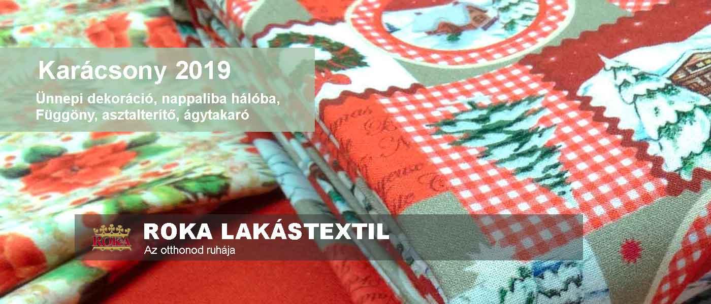 Roka lakástextil karácsony téma oldal