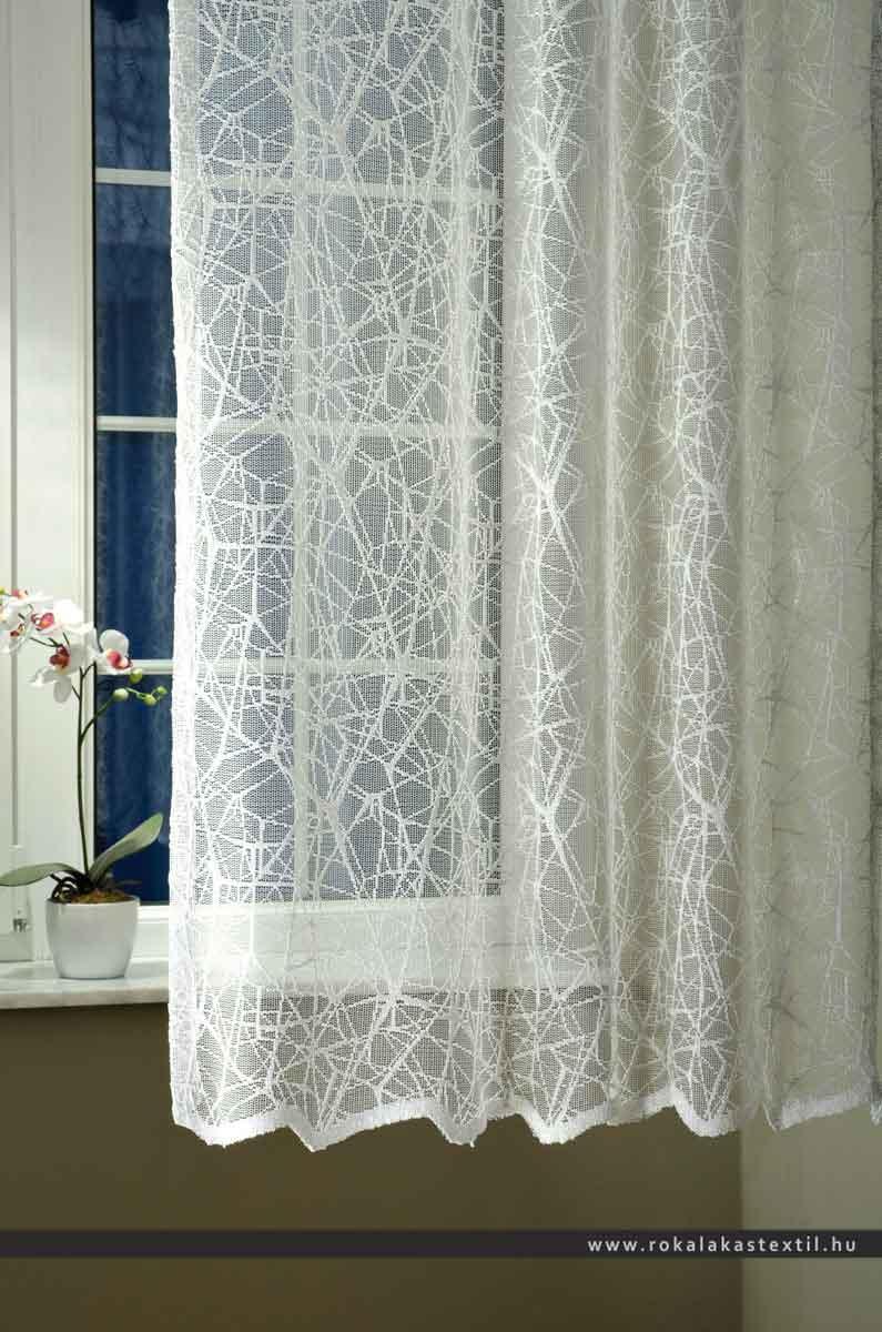 7388 fényáteresztő függöny ezüst 280 cm magas