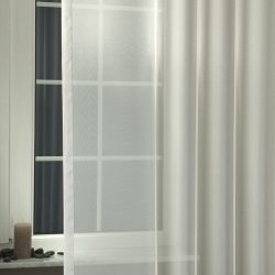 Liliána fényáteresztő függöny ezüst 180
