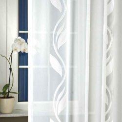 klematisz fehér fényáteresztő függöny