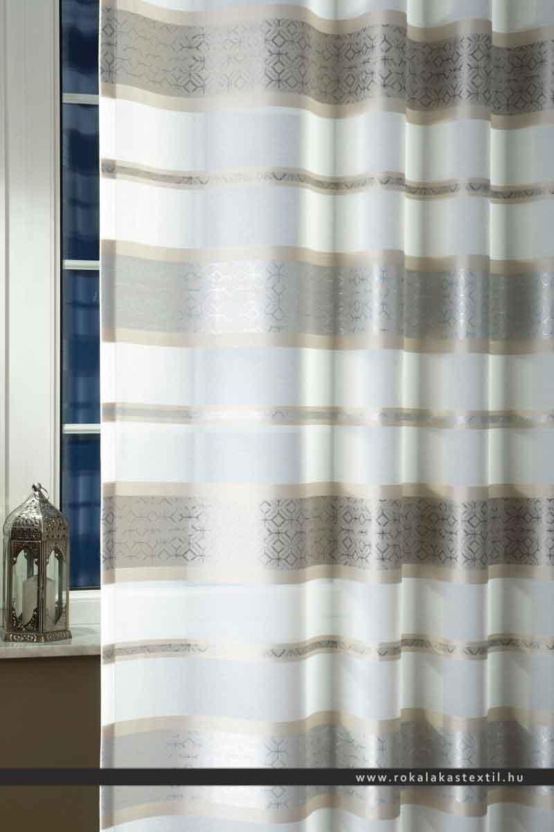 lorena fényáteresztő függöny acélszürke 300 cm magas