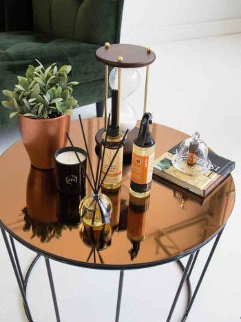 Lakásparfüm ambergris kisasztallal