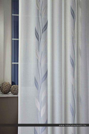 viola fényáteresztő függöny kék 220 cm