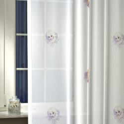 Gyerek függöny fényáteresztő Frozen 205 cm