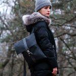 műbőr táska hátizsák téli hodlik