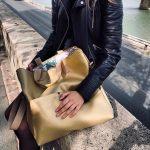műbőr webshop táska Vitoria bag arany