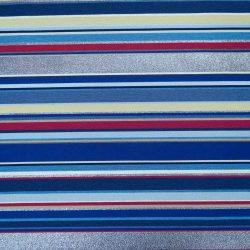 Multicolor neoncsíkos kétoldalas bútorszövet szemben