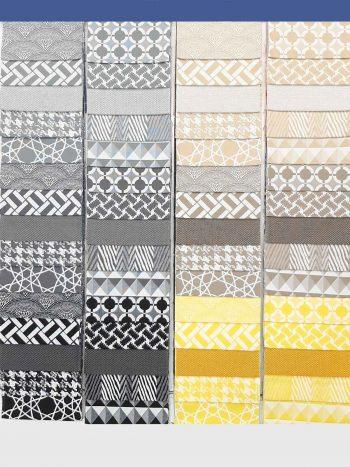 Piura kültéri bútorszövet mintasál 2 drappok