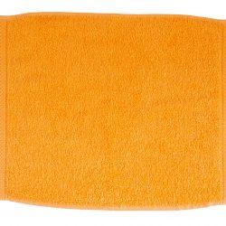 pamut frottír törölköző narancssárga
